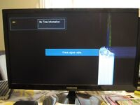 """SAMSUNG 27"""" LED TV PARTS ONLY, SCREEN CRACK OBO"""