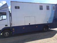 Iveco. Horse Lorry 7.5 ton