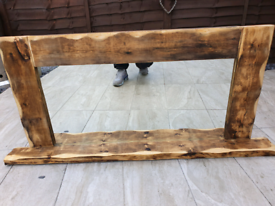 Rustic wooden Mirror sold sold sold sold