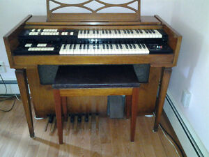 Lowrey Organ and bench-$300 or best offer