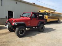 1999 Jeep Wrangler T.J trade for 4x4 truck