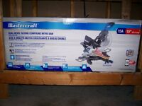 **BRAND NEW** MASTERCRAFT DUEL BEVEL SLIDING COMPOUND MITRE SAW