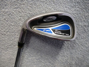 Cobra Golf FP 7 Iron, LH, SS shaft, Like New