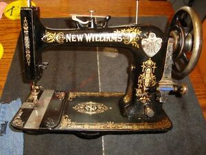 ANTIQUE NEW WILLIAMS MONTREAL SEWING MACHINE