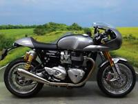 Trimph Thruxton R With Track Cafe Racer kit *350 MILES!*