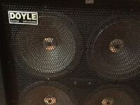 Doyle 4x12 cabinet - solid construction