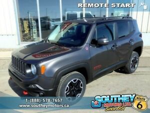2017 Jeep Renegade Trailhawk  - $237.83 B/W - Low Mileage