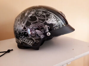 Ladies XS Scorpion Motorcycle Helmet
