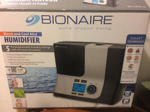 - Bionaire Humidier Cool / Warm - $130.00+tax in store