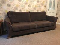 Sofa, Armchair and Pouffe