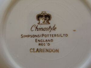 Simpsons Potters of England Full Dinner Setting for 8 With compl Kingston Kingston Area image 5