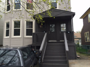 Sept 1st, three bedroom, Wood stove, North End, Yard, Dog/cat