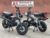 Bullit Motorcycles Heritage 125cc. Learner Legal, Fun Bike