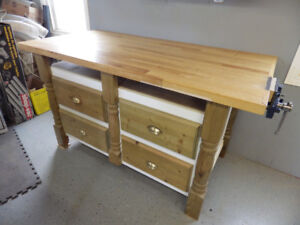 Woodworking Shop Bench