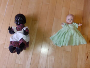 Two Dolls from the 1950's