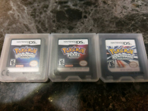 Pokemon games for ds/3ds
