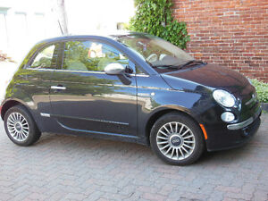 FIAT 500 LOUNGE 2012, automatique