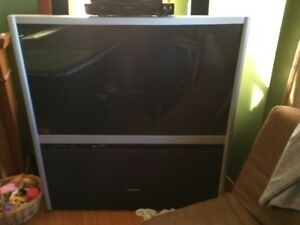Large Screen TV.