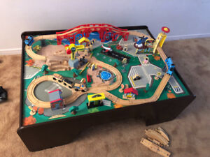Train set and table! Great condition. All tracks and Thomas.