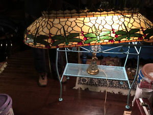 bueatiful game room table pull antique  lighting