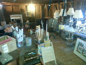 Huge Indoor Garage Sale Saturday Sunday Dec 10th + 11th - 10-4pm