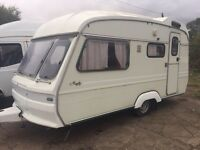Avondale mayfly 2 berth swift elddis caravan with awning CAN DELIVER winter bargain