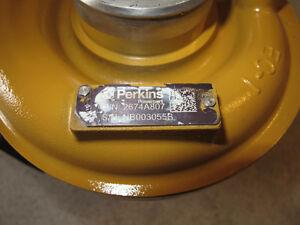 Rebuilt Perkins 2674A807 turbocharger