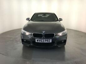 2013 63 BMW 320D M SPORT DIESEL 4 DOOR SALOON SERVICE HISTORY FINANCE PX WELCOME