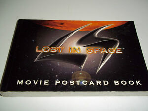 Lost in Space Movie Postcard Book from 1998- 30 Postcard