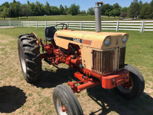 Case 430 Diesel Farm Tractor with 3-Point Hitch & PTO