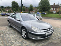 2002 PEUGEOT 607 2.2 HDI SE 136 BHP AUTOMATIC (CHEAP PART EXCHANGE TO CLEAR)