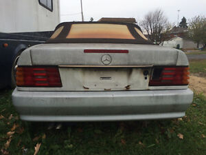 1990 MERCEDES 300 SL ROADSTER CONVERTIBLE West Island Greater Montréal image 4