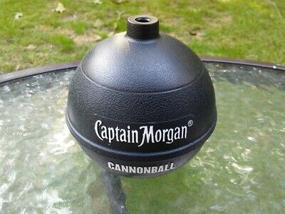 Captain Morgan Rum Cannonball Cocktail Drink Cup Container Promo Barware -