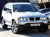 BMW X5 3.0i Sport auto 2003(03) 2 OWNER SAT NAV