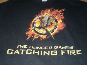The Hunger Games - Catching Fire Promo T-Shirt London Ontario image 4