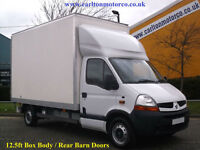 2009/ 59 Renault Master 2.5DCi Lwb Luton / Box van 12.5ft Body Barn doors