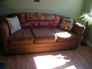 Couch/Hide a bed.