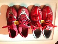 Sport Shoes...soccer(9), golf(1), football(1) various sizes