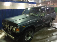 1987 Toyota Land Cruiser SUV, Crossover