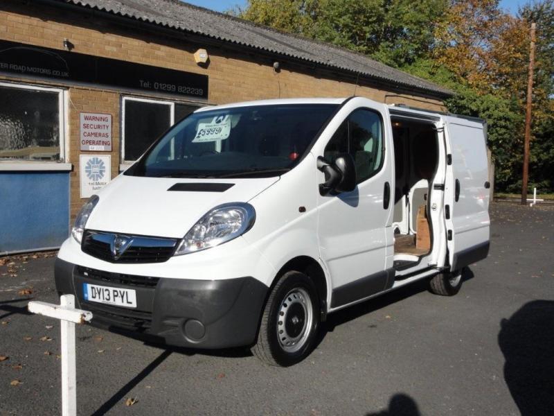2013 Vauxhall Vivaro 2 0 CDTi 2700 Panel Van 4dr (SWB, EU5) | in  Stourport-on-Severn, Worcestershire | Gumtree