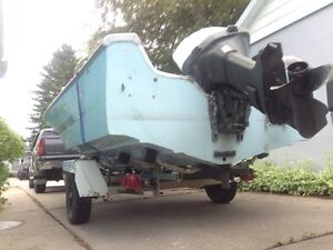 17' Glastron 125HP PROJECT