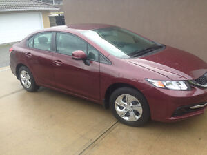 2013 Honda Civic LX/Accident Free/Heated Seats/Blue Tooth