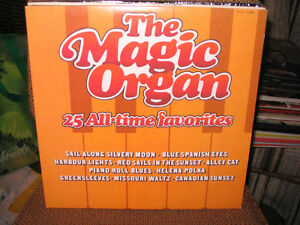 UN 33 TOURS THE MAGIC ORGAN - 25 ALL-TIME FAVORITES