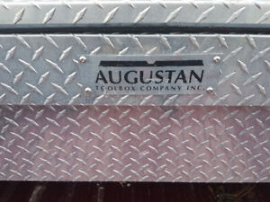 Used augustan stainless tool box