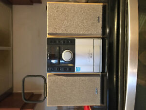 Sony MP3/CD/cassette radio with antenna