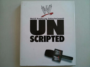 WWE WWF book Unscripted $5