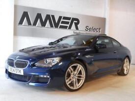 2014 14 BMW 6 SERIES 3.0 640D M SPORT 2D AUTO 309 BHP DIESEL