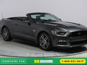 2016 Ford Mustang CONVERTIBLE GT PREMIUM AUTO A/C CUIR NAVIGATIO