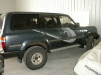 1992 Toyota Land Cruiser SUV, Crossover