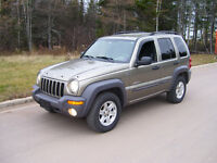 SOLD ..Jeep Liberty 4X4 .. SOLD